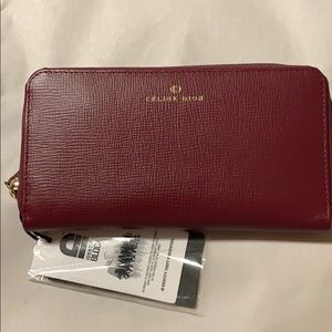 Celine Dion large wallet with tags